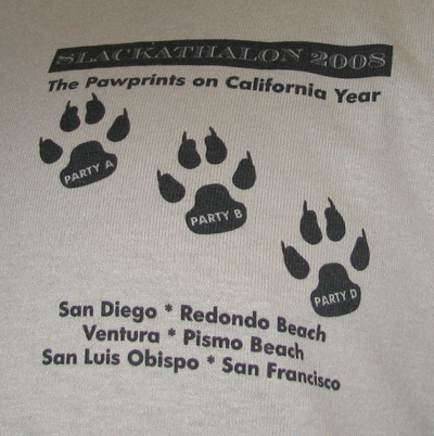 The Pawprints on California Year