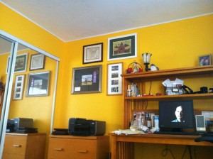 Office space in living color